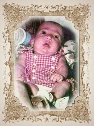 foto criança THAISA moldura (Foto: arte esporte)