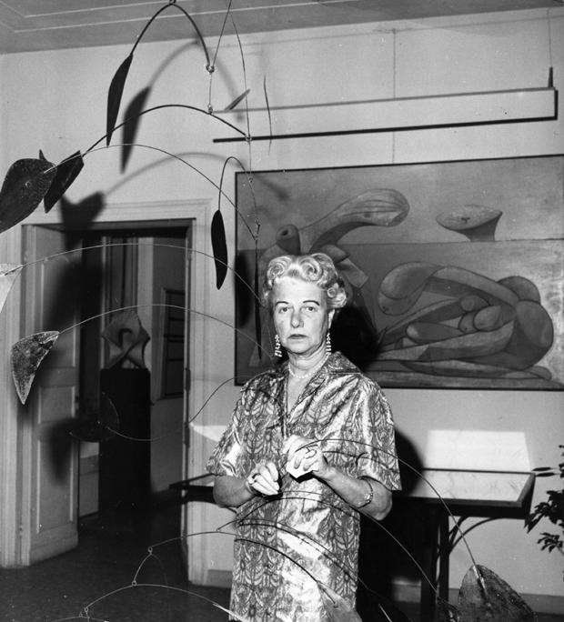 A colecionadora Peggy Guggenhein (Foto: Getty Images)