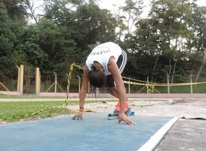 Ana Carolina, atletismo (Foto: Daniel Marques)