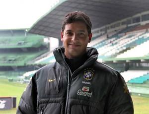 Marquinhos Santos, técnico da categoria de base do Coritiba (Foto: Divulgação / Coritiba)