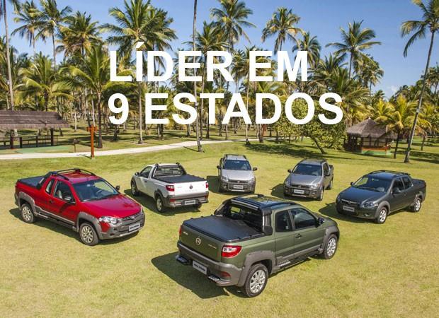 Fiat Strada - Mais vendidos por estado (Foto: Divulgação)