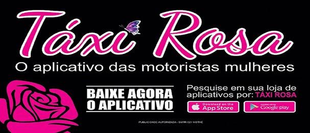 Táxi Rosa opera somente no Rio de Janeiro (Foto: Divulgação)