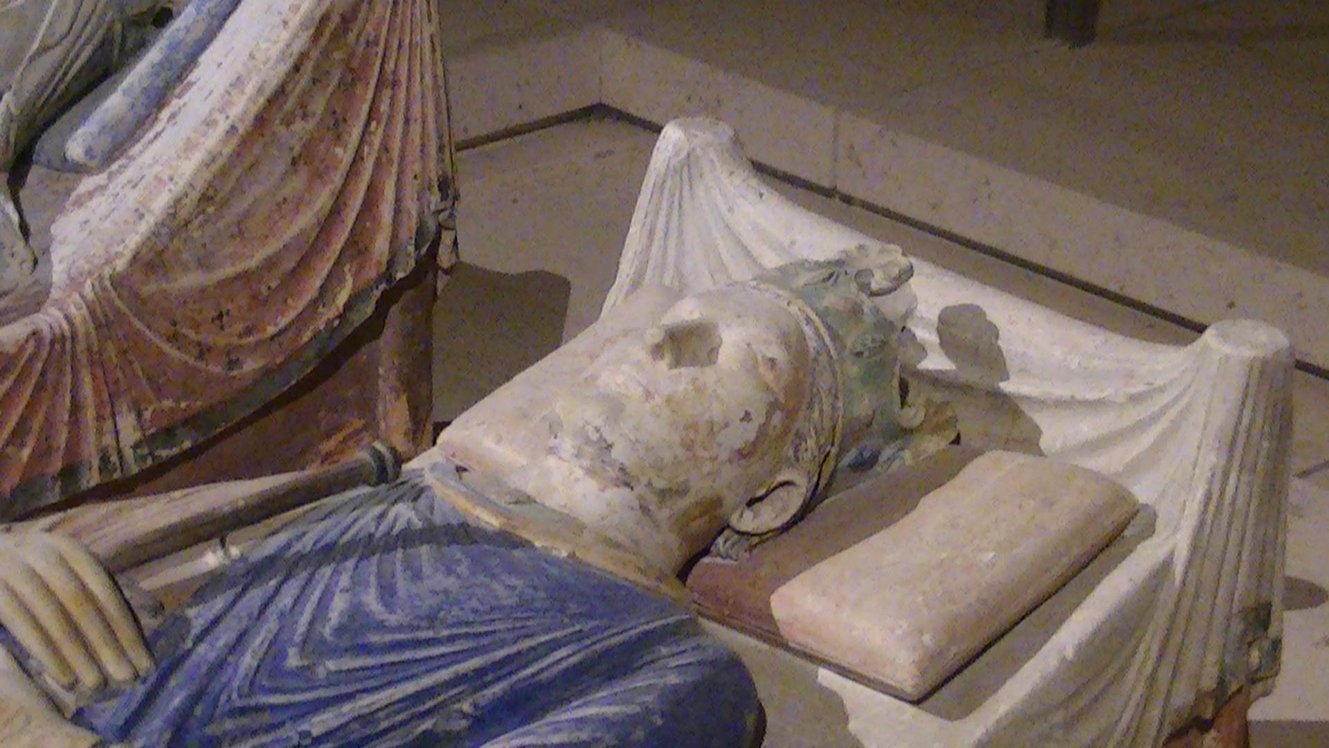 Efígie de Henrique II da Inglaterra (Foto: Wikimedia/Adam Bishop)