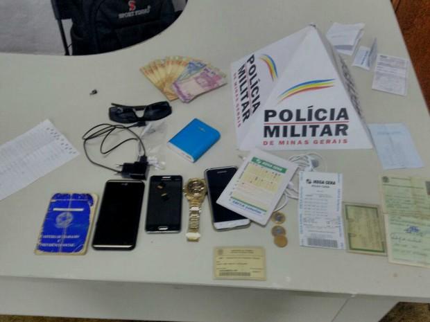 Estelionato Uberlândia (Foto: Polícia Militar/Divulgação)
