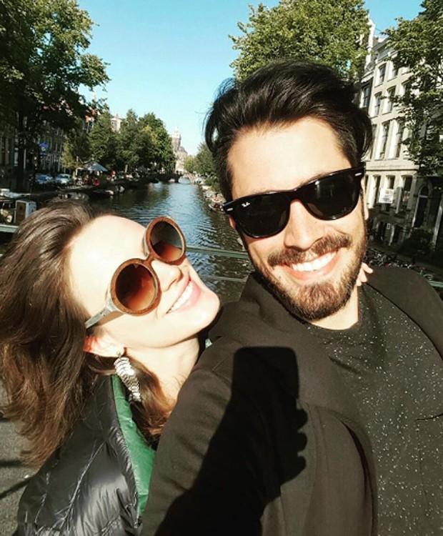 Bianca Bin e o marido, Pedro Brandão, em Amsterdam (Foto: Reprodução/Instagram)