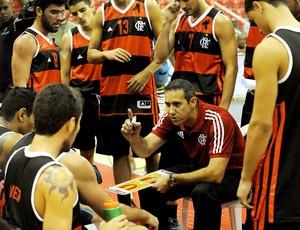 José Neto basquete Flamengo x Brasília NBB (Foto: Alexandre Vidal / Fla Imagem)