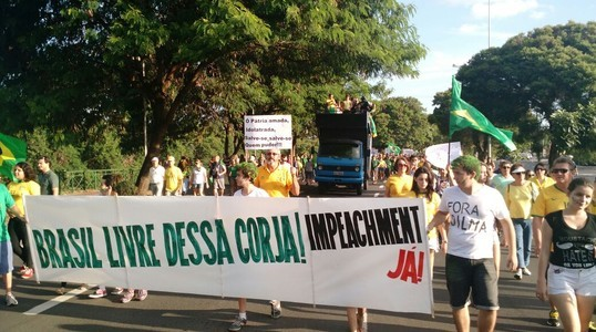 Manifestação em Sorocaba (SP) reuniu 2 mil pessoas, diz PM