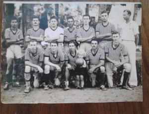 Bisavô de Muriel e Alisson jogava no gol do futebol amador (Foto: Arquivo pessoal)