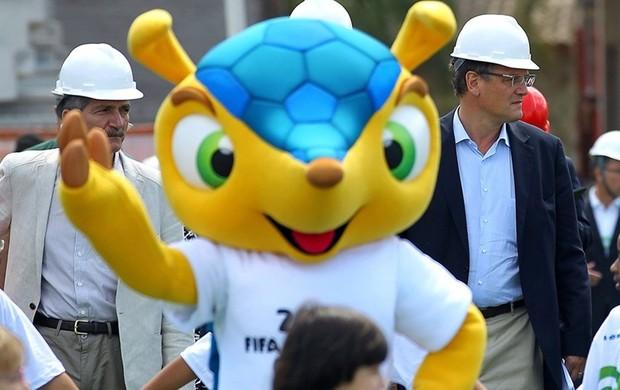 Jérôme Valcke no Beira-Rio (Foto: Divulgação/Fifa.com)