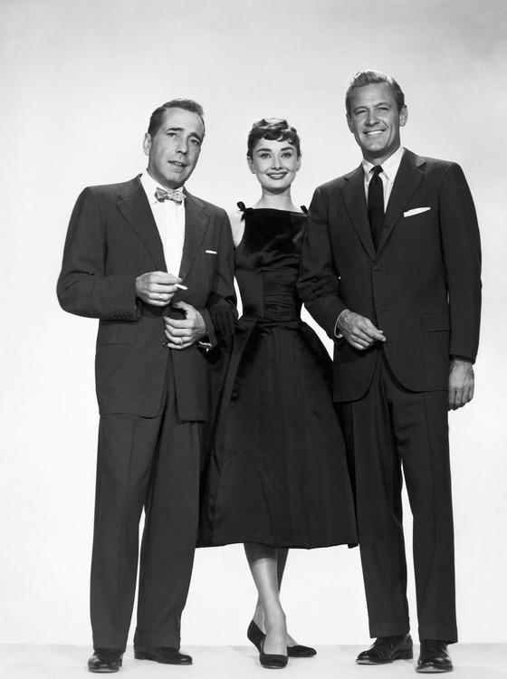 Com Humphrey Bogart e William Holden em Sabrina, que também está na maratona do Telecine (Foto: Divulgação)