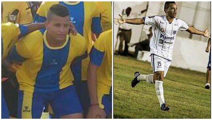 Danilo, atacante do Boca Júnior (Foto: Arte: GloboEsporte.com)