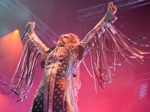 rob zombie (Foto: Luciano Oliveira/G1)
