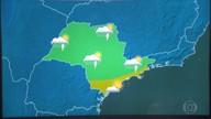 Confira a previsão do tempo para a terça-feira (21) em São Paulo