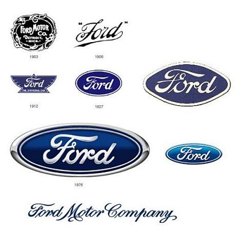 Logos da Ford (Foto: Arquivo)
