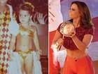Vivi Araújo abre álbum de fotos e mostra que é 'rainha do carnaval' desde bebê