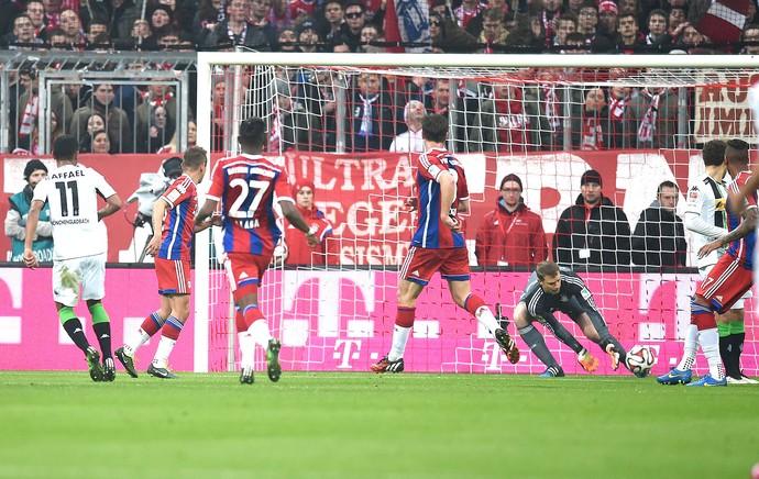 Neuer, Bayern de Munique X Borussia Monchengladbach (Foto: Getty Images)
