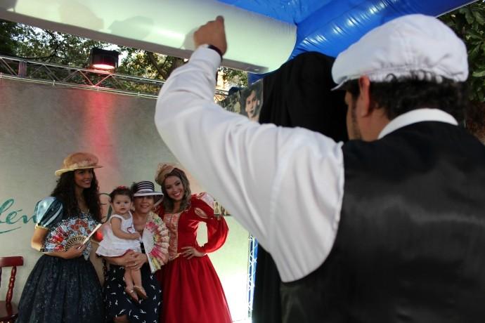 Nossa equipe marcou presença no local e com uma ação bem divertida. (Foto: TV Anhanguera)
