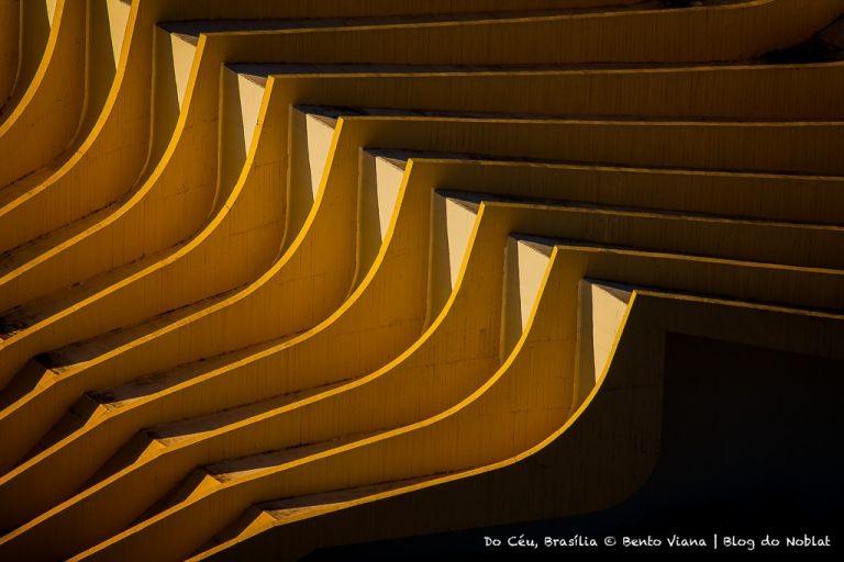 Detalhe do teatro Pedro Calmon no QG do exército (Foto: Bento Viana)