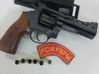 Suspeito é preso com arma de fogo e munições em São Cristóvão