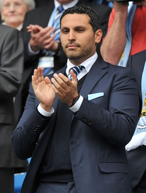 Khaldoon Al Mubarak dono do manchester city (Foto: Agência AFP)