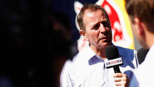 Martin Brundle, ex-piloto de Fórmula 1 e comentarista da TV inglesa (Foto: Agência Getty Images)