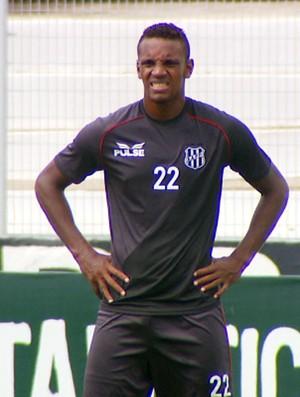 Cleber, zagueiro da Ponte Preta (Foto: Reprodução EPTV)