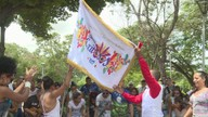Grupo da Unidos dos Morros se apresenta na Bolívia