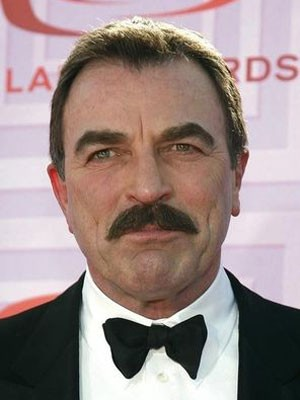 Tom Selleck em foto de 19 de abril de 2009 (Foto: Jason Redmond/Reuters )