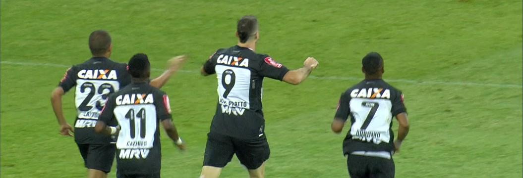 O gol de Atlético-MG 1 x 0 Juventude pelas quartas de final da Copa do Brasil