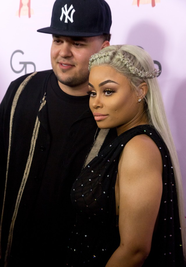 Rob Kardashian e Blac Chyna (Foto: Getty Images)