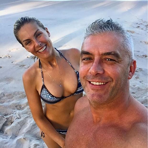 Ana Hickmann e o marido, Alexander Correa (Foto: Reprodução/Instagram)