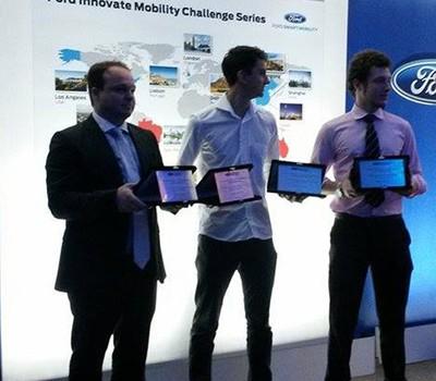 Vencedores do Desafio São Paulo de Mobilidade da Ford (Foto: Divulgação)