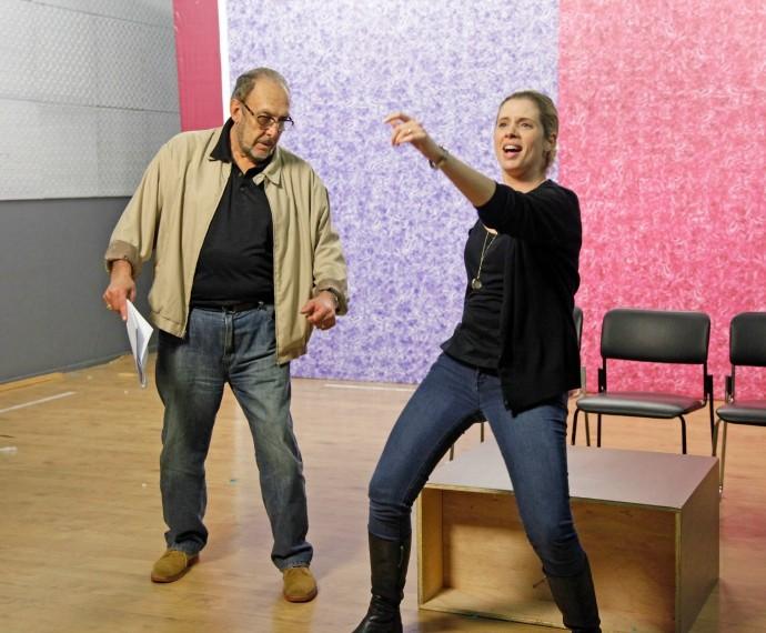 Dani Valente e Luis Carlos Miele dançaram funk no Tomara que Caia (Foto: Artur Meninea/Gshow)