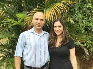 Fabio Laé de Souza criou projeto ao lado da esposa, Carolina Saliby (Foto: Arquivo Pessoal)