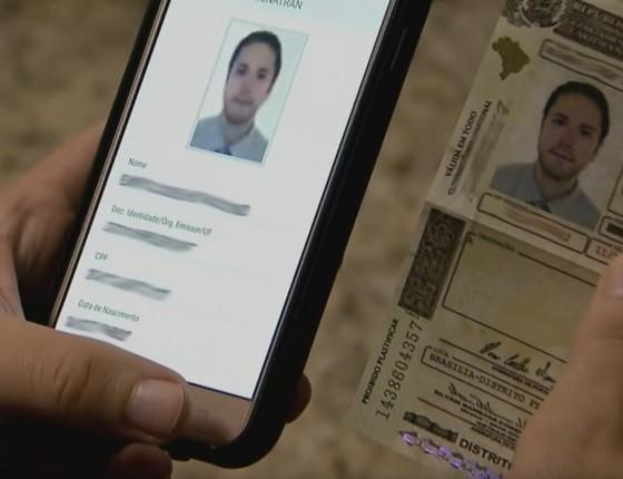 Ministério das Cidades lançará carteira de motorista digital na terça-feira (10) (Foto: Reprodução / Jornal Hoje)