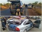 PRF prende motorista suspeito de contrabandear gasolina em Boa Vista