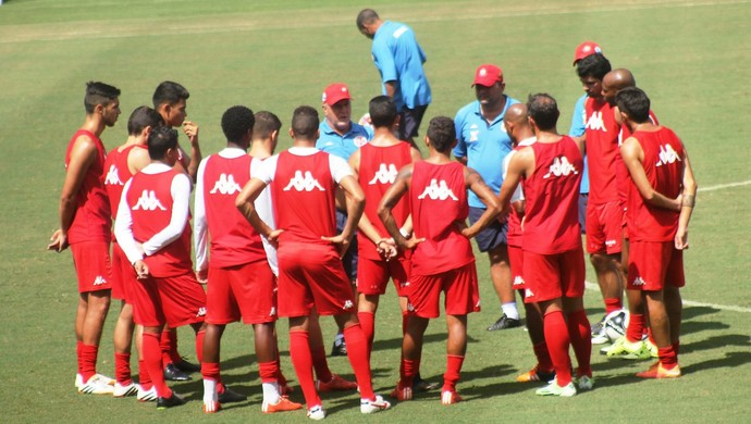 América-RN treino Arena das Dunas (Foto: Canindé Pereira/Divulgação)