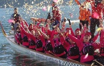 Santos sedia prova de canoagem com sobreviventes de câncer de mama