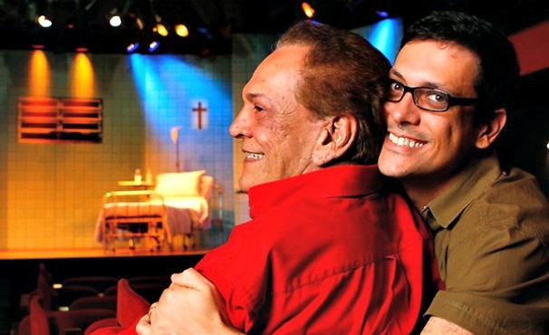 Lúcio Mauro e Lúcio Mauro Filho (Foto: Marcos Serra Lima/Globo.com )