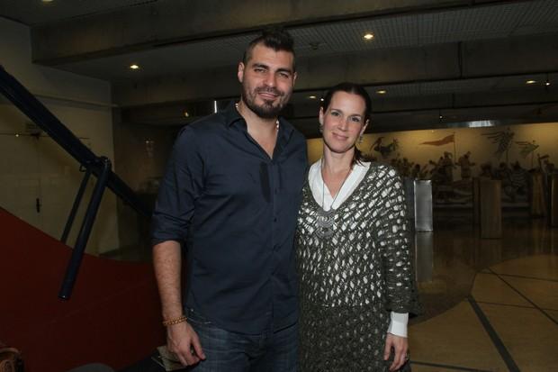 Thiago Lacerda e Vanessa Lóes (Foto: Amauri Nehn/Photo Rio News)