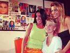 Túnel do tempo: Sheila Carvalho e Sheila Mello homenageiam Xuxa