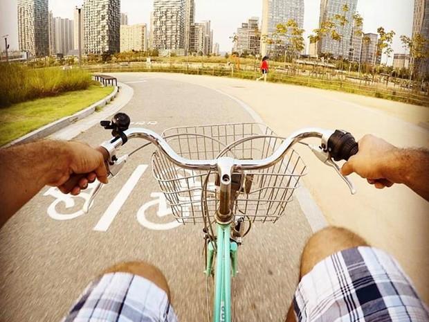 Meios de transporte sustentáveis, tecnologia e meio ambiente compõem cenário da cidade do futuro (Foto: Eduardo de Paula/TV Vanguarda)