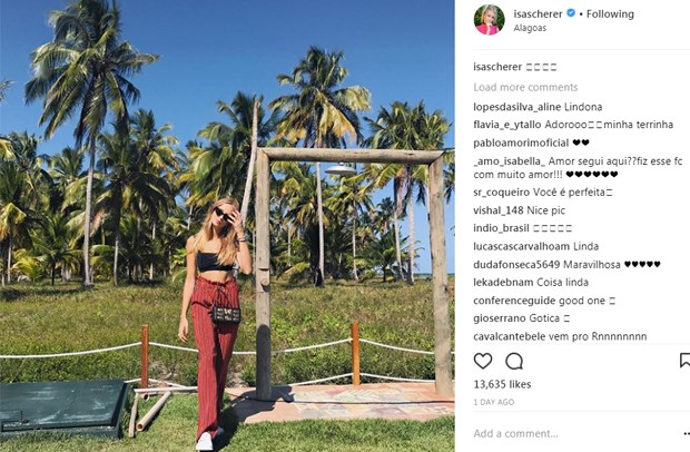 Isabella Scherer  (Foto: Reprodução/Instagram)