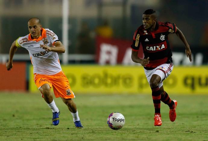 Marcelo Cirino, Flamengo x Nova Iguaçu (Foto: Alexandre Cassiano / O Globo)