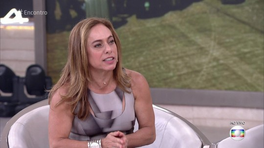 Cissa Guimarães relembra acidente do filho Rafael: 'Recebi um carinho que me salvou'