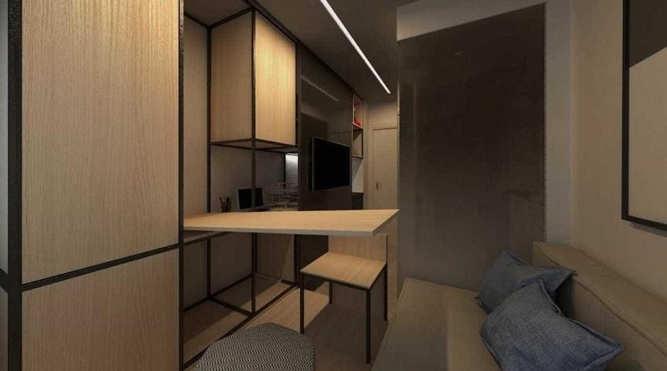 Apartamento de 10m² da Vitacon (Foto: Divulgação)