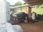 Polícia prende receptador com piscina cheia de produtos em MS