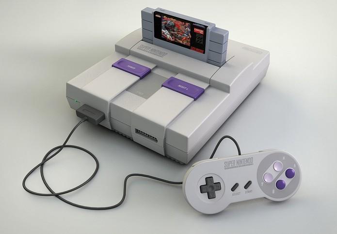 O Super Nintendo, lançado em 1990, foi um grande sucesso no início dos anos 90 (Foto: Divulgação/Nintendo)