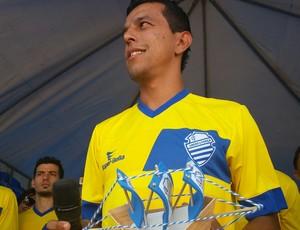 didira csa (Foto: Augusto Oliveira/GloboEsporte.com)