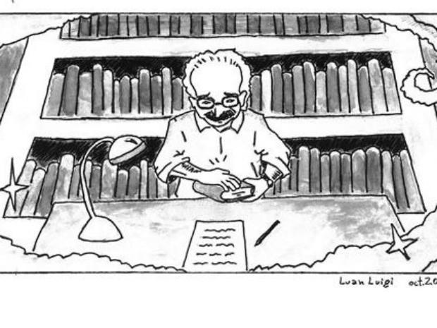 Manoel de Barros em Quadrinhos (Foto: Assessoria PMCG/ Dilvulgação)